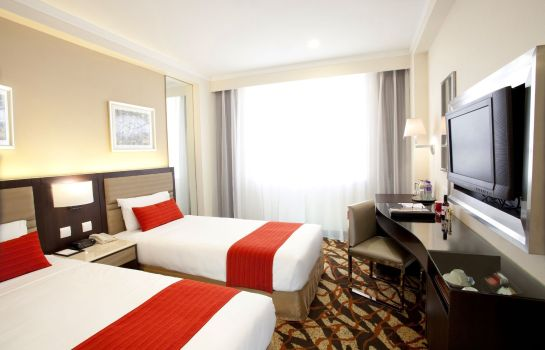 Chambre double (confort) Metropark Hotel Kowloon