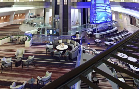 Lobby Atlanta Marriott Marquis