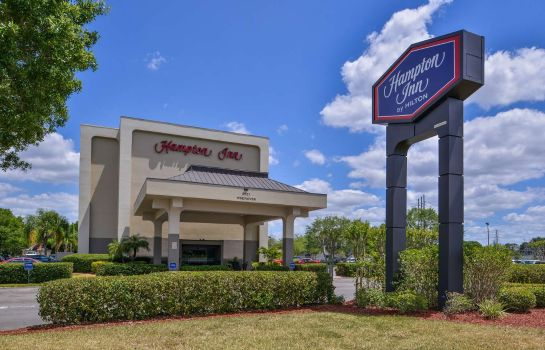Vista exterior Hampton Inn closest to Universal Orlando