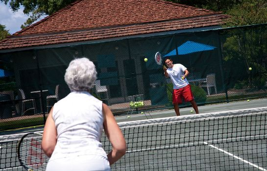 Tennisbaan Ocean Creek Resort