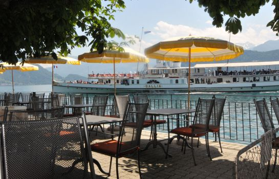 Terrasse Central am See Beau Rivage – Collection