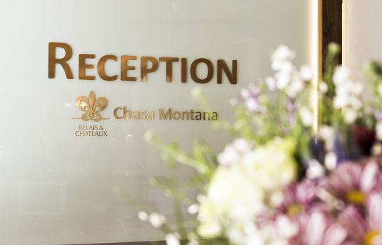 Reception Chasa Montana Hotel & Spa