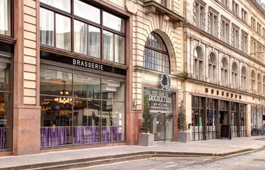 Exterior view DoubleTree by Hilton Edinburgh City Centre