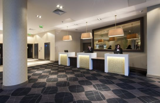 Lobby DoubleTree by Hilton Edinburgh City Centre