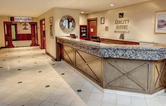 Lobby Quality Suites Rockville