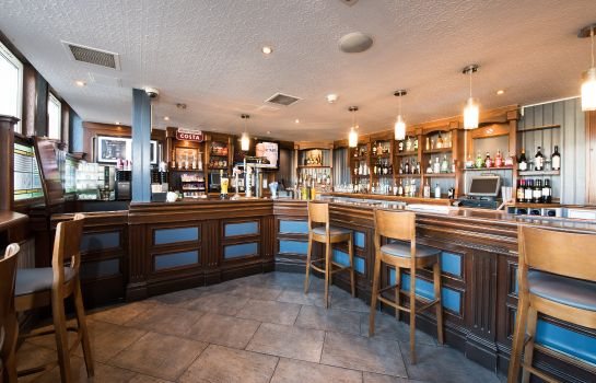 Hotel bar Jurys Inn Edinburgh