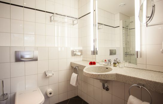 Badezimmer Aparion Berlin Family Apartments