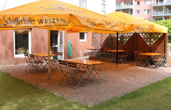 Terraza Land-gut-Hotel Sperlingshof