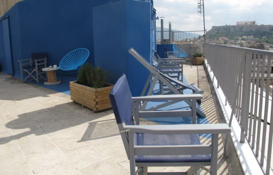Terrace Evripides Hotel