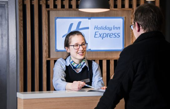 Lobby Holiday Inn Express EDINBURGH - LEITH WATERFRONT