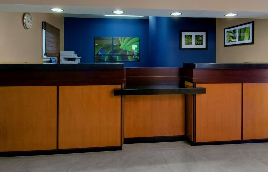 Lobby Fairfield Inn & Suites Denver Airport