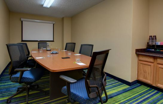 Conference room Fairfield Inn & Suites Denver Airport