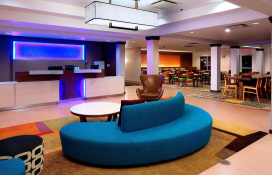 Hotelhalle Fairfield Inn & Suites Newark Liberty International Airport