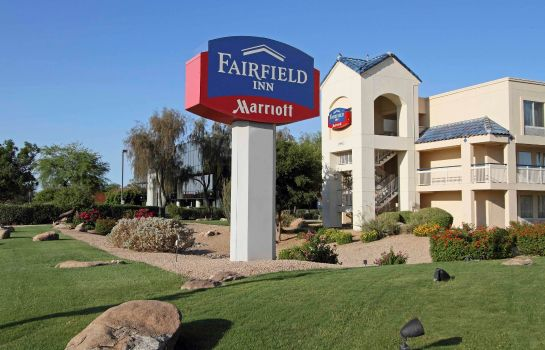 Außenansicht Fairfield Inn Scottsdale North