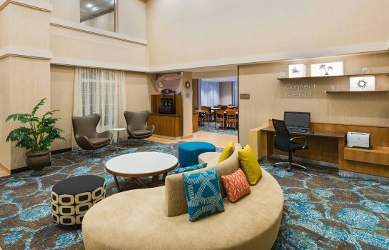 Hotelhalle Fairfield Inn & Suites Clearwater