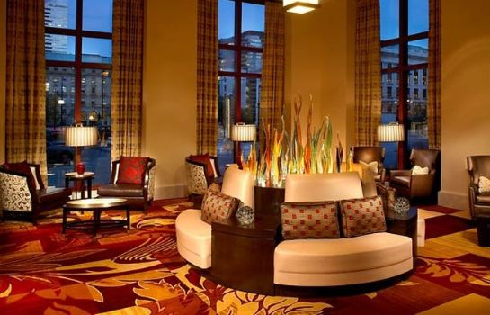 Hotelhalle Cleveland Marriott Downtown at Key Tower
