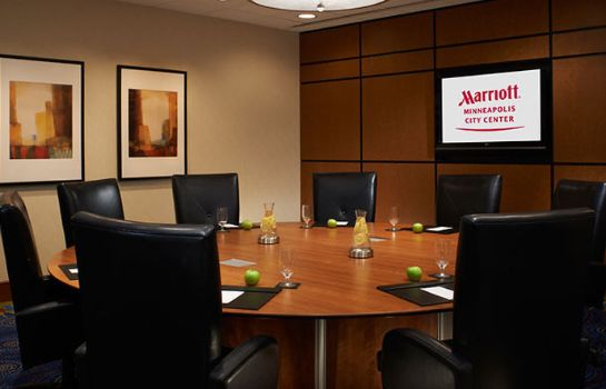 Conference room Minneapolis Marriott City Center