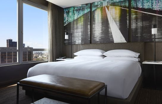 Chambre New York Marriott at the Brooklyn Bridge