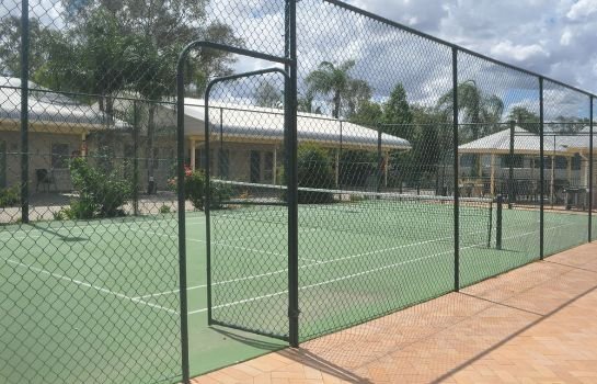 Campo da tennis The Jolly Swagman Motor Inn