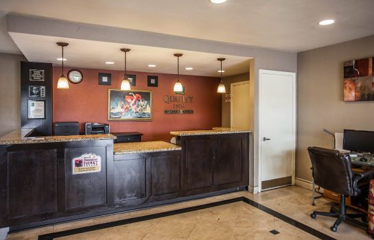 Hall de l'hôtel Quality Inn & Suites Anaheim at the Park
