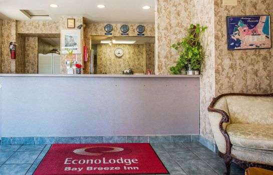 Hol hotelowy Econo Lodge Bay Breeze