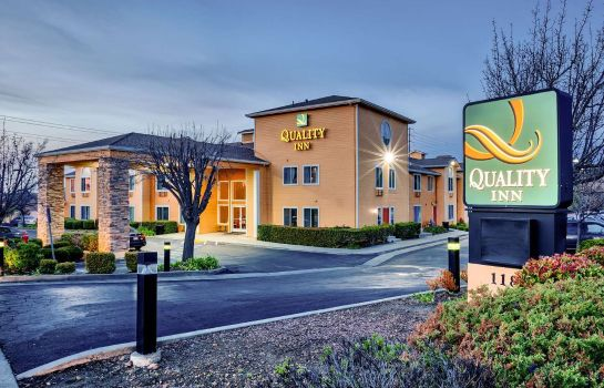 Widok zewnętrzny Quality Inn near Six Flags Discovery Kingdom-Napa Valley