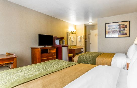 Pokój Quality Inn near Six Flags Discovery Kingdom-Napa Valley