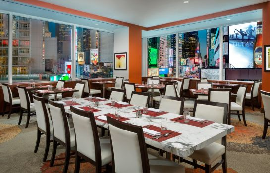 Restaurant Crowne Plaza TIMES SQUARE MANHATTAN