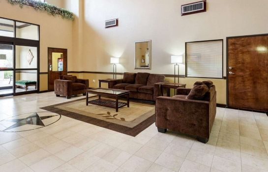 Lobby Comfort Suites Bush Intercontinental Airport