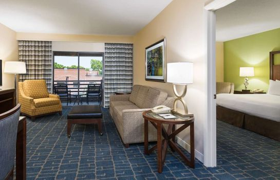 Kamers DoubleTree Suites by Hilton Hotel Charlotte - Southpark
