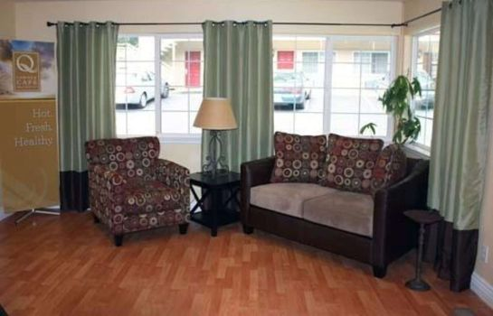 Hotelhalle Quality Inn & Suites Santa Cruz Mountains