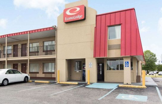 Buitenaanzicht Econo Lodge Town Center