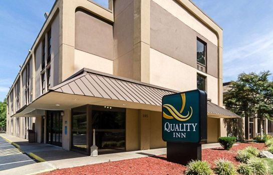 Außenansicht Quality Inn Historic East - Busch Gardens Area
