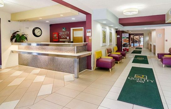 Hotelhalle Quality Inn Historic East - Busch Gardens Area