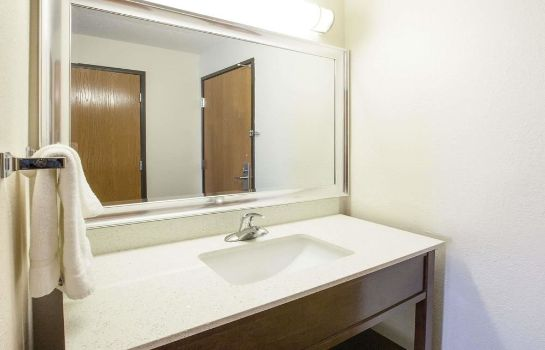 Bagno in camera Baymont Inn & Suites Auburn