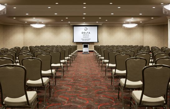 Conference room Delta Hotels Sault Ste. Marie Waterfront