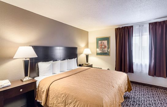 Chambre Quality Suites Wichita