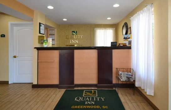 Hotelhalle Quality Inn Greenwood