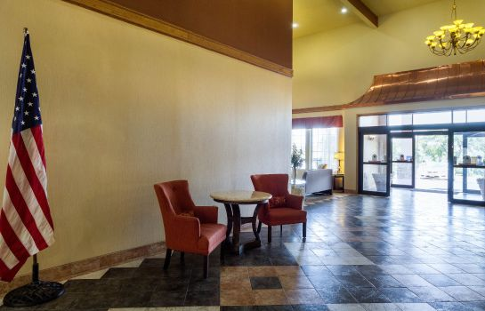 Hall de l'hôtel Comfort Inn & Suites Burnet