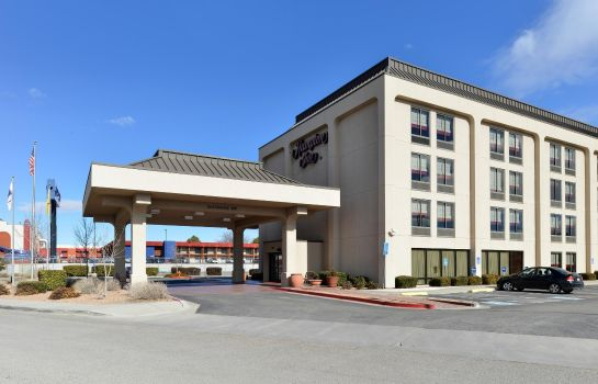 Außenansicht Hampton Inn Albuquerque University-Midtown -UNM-