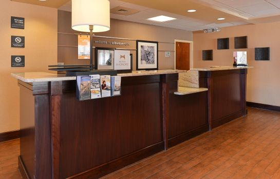 Hotelhalle Hampton Inn Albuquerque University-Midtown -UNM-