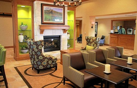 Lobby Hampton Inn - Suites-Austin Airport