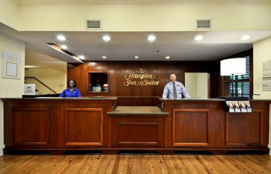 Hotelhalle Hampton Inn - Suites Charleston-West Ashley