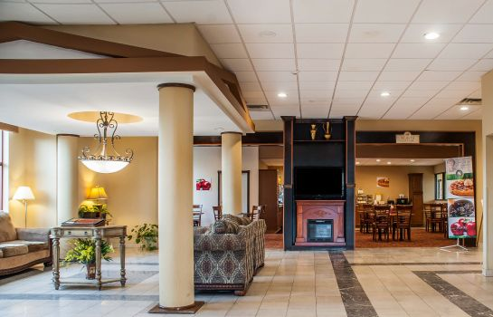 Hall de l'hôtel Quality Inn Airport
