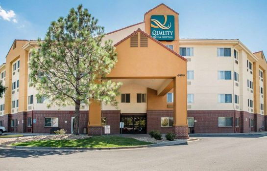 Buitenaanzicht Quality Inn & Suites Denver International Airport