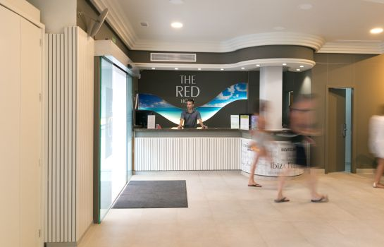 Reception The Red Hotel by Ibiza Feeling