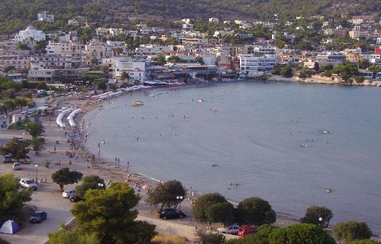 Beach Kavos Bay Seafront Hotel