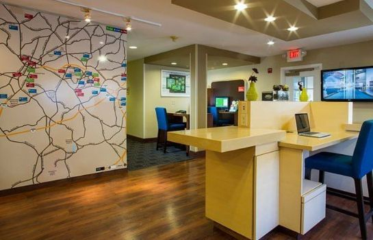 Hotelhalle TownePlace Suites Greenville Haywood Mall