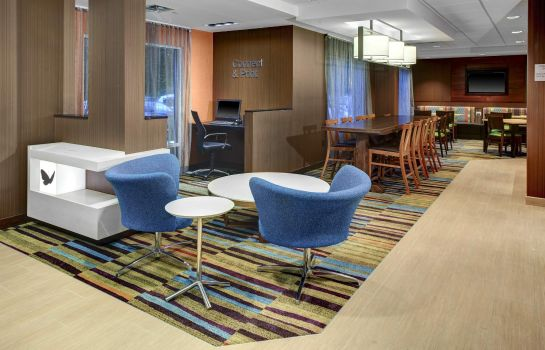 Hotelhalle Fairfield Inn & Suites Atlanta Alpharetta