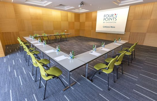 Conference room Four Points by Sheraton Ljubljana Mons